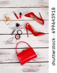 fashion party luxury set.... | Shutterstock . vector #699643918