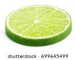 slice of lime citrus fruit... | Shutterstock . vector #699645499