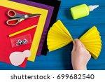 making souvenir for... | Shutterstock . vector #699682540
