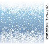holiday greeting background... | Shutterstock .eps vector #699689464