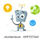 color vector illustration of... | Shutterstock .eps vector #699757264