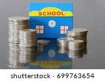 cost of education school...   Shutterstock . vector #699763654