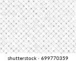 grunge halftone black and white.... | Shutterstock . vector #699770359