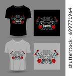 girl gang typography for t...   Shutterstock .eps vector #699771964