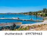 cesme  turkey   july 07  2017   ...   Shutterstock . vector #699789463