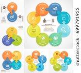 business infographics design... | Shutterstock .eps vector #699791923