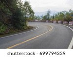 winding lake  road     Shutterstock . vector #699794329