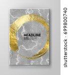 material business card ... | Shutterstock .eps vector #699800740