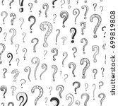 vector seamless pattern of... | Shutterstock .eps vector #699819808