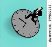 business deal. concept business ... | Shutterstock .eps vector #699833356