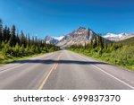 beautiful highway through... | Shutterstock . vector #699837370