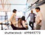 teamwork  blur. | Shutterstock . vector #699845773