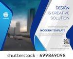 template vector design for... | Shutterstock .eps vector #699869098