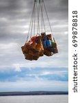 air cargo and aviation work ... | Shutterstock . vector #699878818