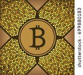 bitcoin crypto currency  logo....
