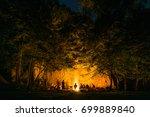 Bonfire In The Dark Woods Next...