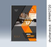 cover design  corporate... | Shutterstock .eps vector #699892720
