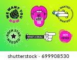 announcement of employment... | Shutterstock .eps vector #699908530