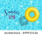 Vector Swim Ring On Swimming...