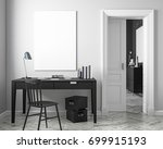 classic white work place...   Shutterstock . vector #699915193
