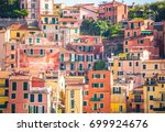 picturesque town of lerici in... | Shutterstock . vector #699924676