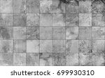 Stock vector slate tile ceramic seamless texture square light gray map vector graphics 699930310
