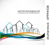 vector buildings   Shutterstock .eps vector #69994438