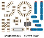top view railway tracks and... | Shutterstock .eps vector #699954004
