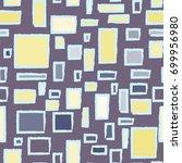 colorful frames. seamless...   Shutterstock .eps vector #699956980