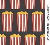 popcorn  hand drawn backdrop....   Shutterstock .eps vector #699982594