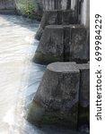 irrigation waterway | Shutterstock . vector #699984229