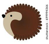 vector illustration of cute... | Shutterstock .eps vector #699994366