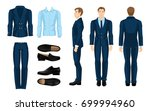 vector illustration of... | Shutterstock .eps vector #699994960