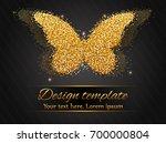 elegant autumn background with...   Shutterstock .eps vector #700000804
