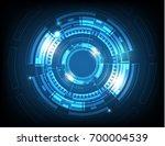 digital business   vector tech... | Shutterstock .eps vector #700004539