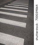 pedestrian crosswalk road...   Shutterstock . vector #700039864