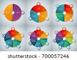 collection of vector... | Shutterstock .eps vector #700057246