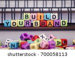 business strategy and marketing ... | Shutterstock . vector #700058113
