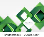 squares geometric object in... | Shutterstock .eps vector #700067254