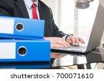 office working    Shutterstock . vector #700071610
