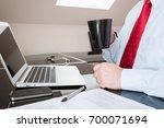 working man    Shutterstock . vector #700071694