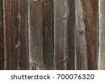 brown natural wood background | Shutterstock . vector #700076320