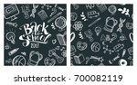back to school concept. hand... | Shutterstock .eps vector #700082119