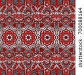 vector ethnic abstract seamless ... | Shutterstock .eps vector #700088164