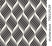 seamless pattern with geometric ... | Shutterstock .eps vector #700119139