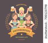 Oktoberfest Flat Illustration...