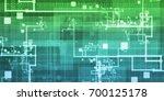 quantum technology as a... | Shutterstock . vector #700125178