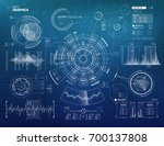 infographics vector elements... | Shutterstock .eps vector #700137808