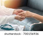 geriatric doctor  geriatrician  ... | Shutterstock . vector #700156936