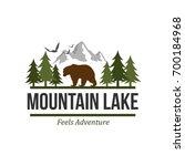 outdoor and adventure logo... | Shutterstock .eps vector #700184968